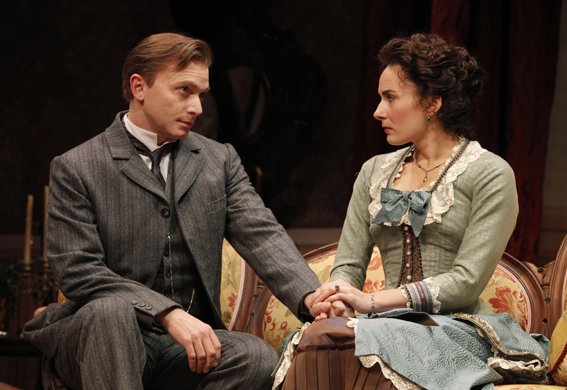 Michael Cerveris and Laura Benanti