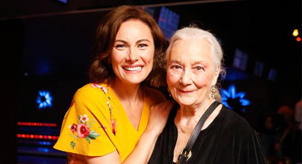 Laura Benanti and Rosemary Harris. Photo by Chasi Annexy.