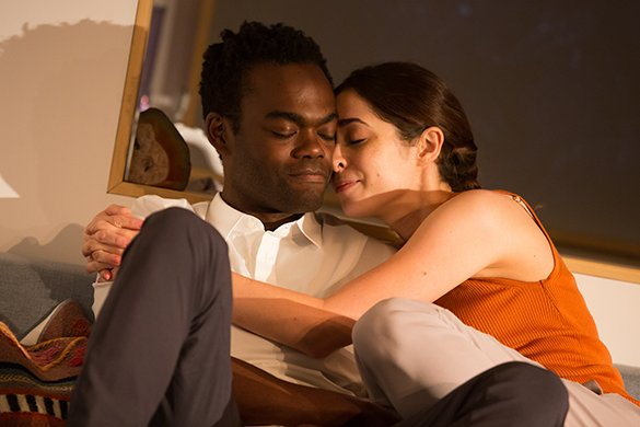 William Jackson Harper and Cristin Milioti. Photo by Jeremy Daniel.