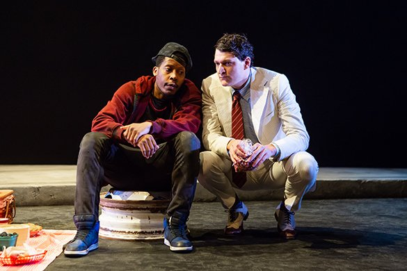 Namir Smallwood and Gabriel Ebert. Photo by Jeremy Daniel