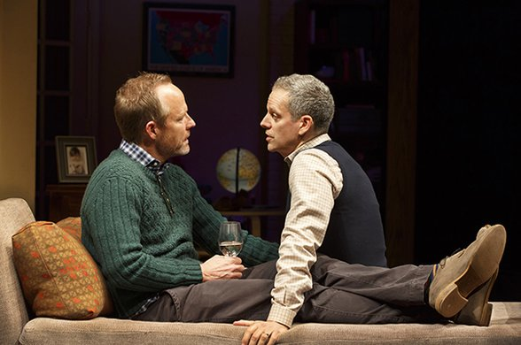 John Benjamin Hickey and Patrick Breen. Photo by Joan Marcus.