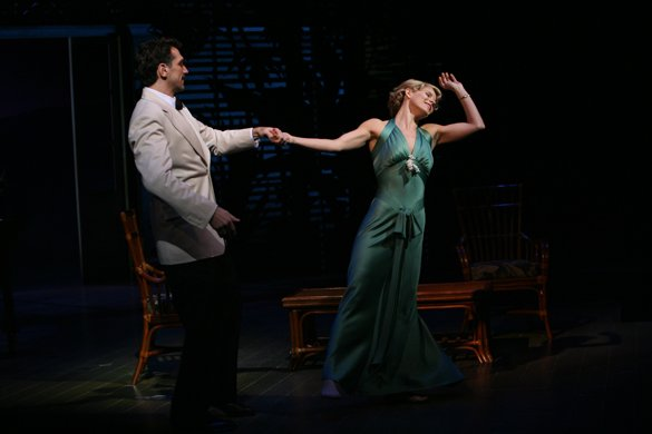 Kelli O'Hara and Paulo Szot