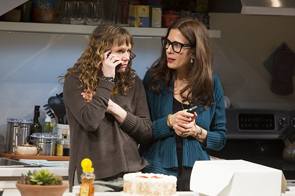 Sally Murphy and Jessica Hecht. Photo by Jeremy Daniel.