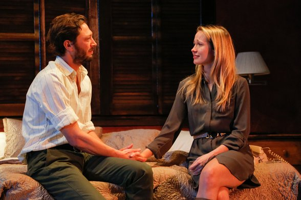 Ebon Moss-Bachrach and Anna Camp. Photo by Erin Baiano.
