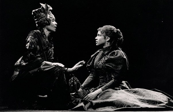 Vivian Reed and Audra McDonald. Photo by Joan Marcus.