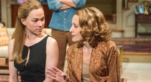 Kristen Bush and Jan Maxwell. Photo by Stephanie Berger.
