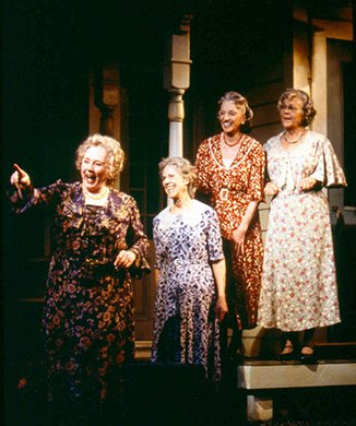 Piper Laurie, Frances Sternhagen, Elizabeth Franz and Estelle Parsons. Photo by Joan Marcus.