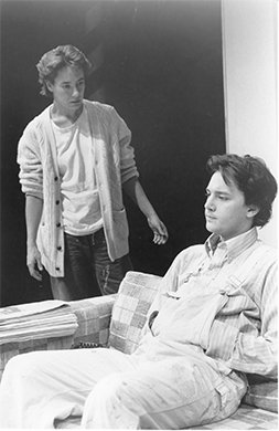Laurie Metcalf and Andrew McCarthy. Photo by Mario Ruiz.