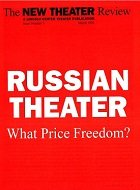 Cover of LCT Review: Russian Theater: What Price Freedom?