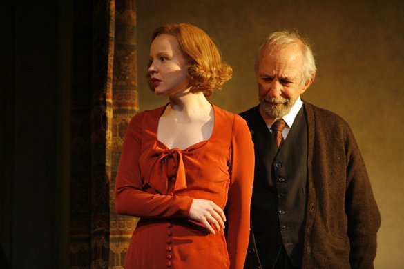 Lauren Ambrose and Ben Gazzara
