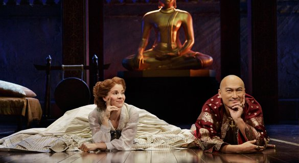 Kelli O'Hara, Ken Watanabe. Photo by Paul Kolnik.