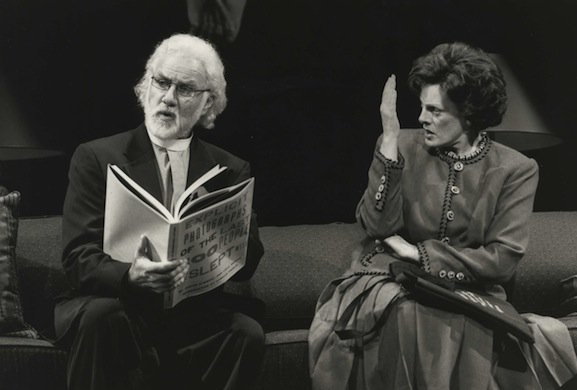 Peter Michael Goetz and Dana Ivey
