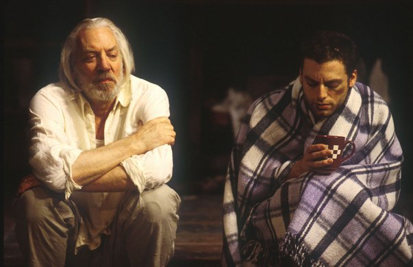 Donald Sutherland and Justin Kirk