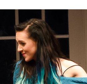Lena Hall in HOW TO TRANSCEND A HAPPY MARRIAGE. Photo by Kyle Froman.