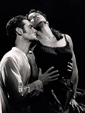 Anthony Crivello and Audra McDonald. Photo by Joan Marcus.