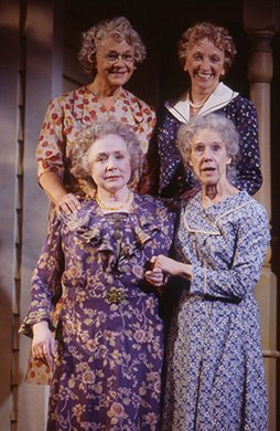 Estelle Parsons, Elizabeth Franz, Piper Laurie and Frances Sternhagen. Photo by Joan Marcus.