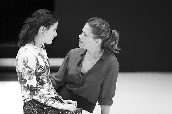 Phoebe Fox and Nicola Walker.