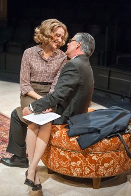 Jan Maxwell and Kevin O'Rourke