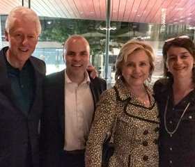 The Clintons Come to OSLO