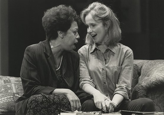 Lynne Thigpen and Kate Burton. Photo by Joan Marcus.