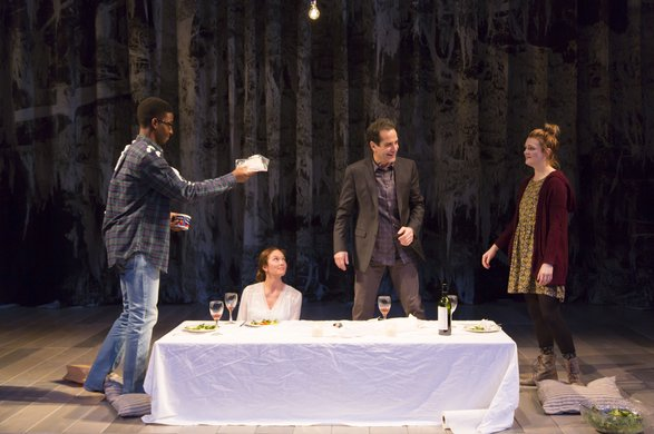 Mamoudou Athie, Diane Lane, Tony Shalhoub, Gayle Rankin. Photo by T. Charles Erickson.