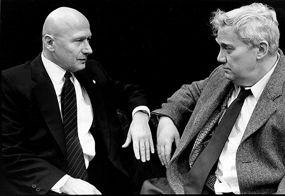 James Tolkan and Kenneth McMillian. Photo by Brigitte Lacomb.
