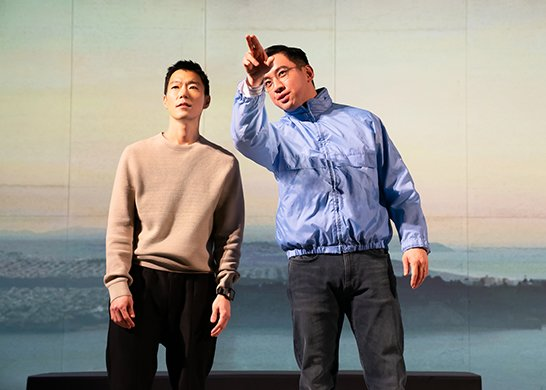 Aaron Yoo and Johnny Wu