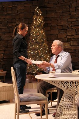 Elizabeth Marvel and Stacy Keach