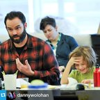 Another great pic from the first day of #VERITE rehearsal. #latergram #lct3 #Repost @dannywolohan \u30fb\u30fb\u30fb\u2028Oliver, who is playing my son, is cracking me up everyday. Come see V\xe9rite if you are around, tickets are $20!!!!