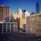 What a happy, sunny, warm(er) day in #NYC. #LCT3 #lincolncenter #manhattan #uws