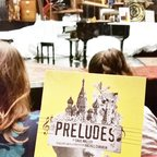 "Preludes was so invigorating! Billed as ""a musical fantasia set in the hypnotized mind of Sergei Rachmaninoff."" Appearances by Hypnotherapist Dahl, opera singer Chaliapin, Chekhov, Tchaikovsky, Tolstoy and last but not least, Rach. @lctheater #preludeslct3 #lct3"
