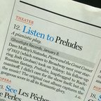 Oh hey, @nymag thinks you should listen to this. I do too. #preludes #lct3 #tonightrach