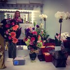 Thanks for the pretty flowers everyone! Including Mom and Dad\U0001f49d awesome opening night vibes... #Verite #LCT3